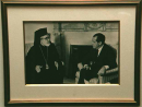 Archbishop Iakovos and President Nixon  » Click to zoom ->