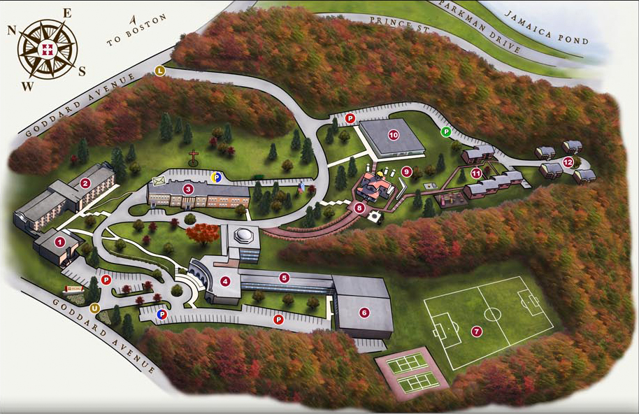Goddard Campus Map.Tour Hellenic College Holy Cross Greek Orthodox School Of Theology