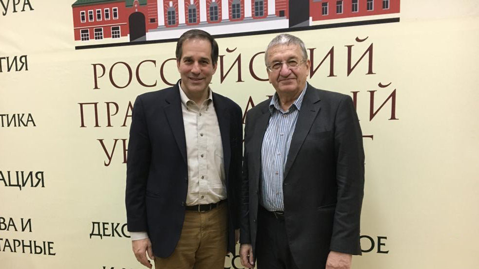 Dr. Mamalakis in Moscow for Russian Book Launch