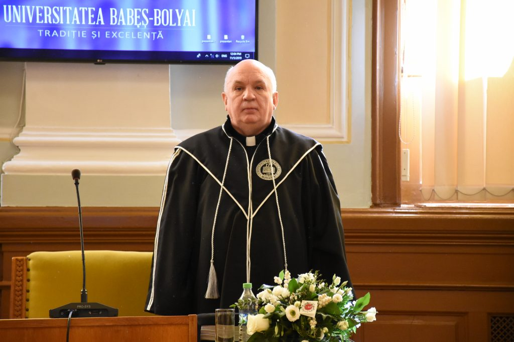 Fr. Pentiuc Awarded Honorary Doctorate in Romania
