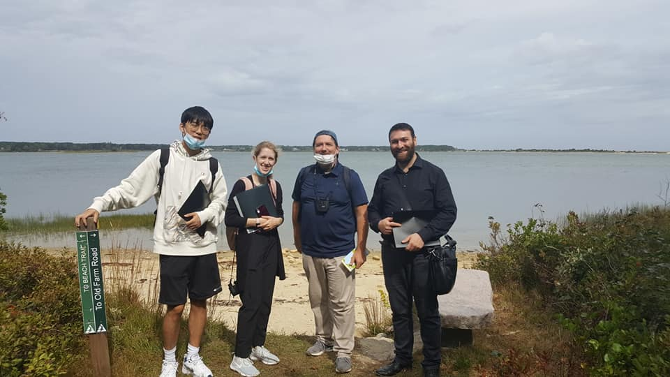 ENVIRONMENTAL HISTORY CLASS CONDUCTS FIELD RESEARCH